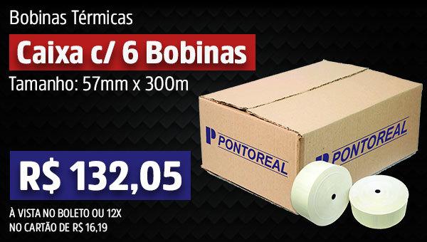 Caixa com 6 Bobinas 57x300