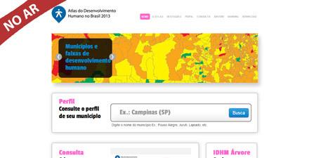 Acesse agora o Atlas Brasil 2013
